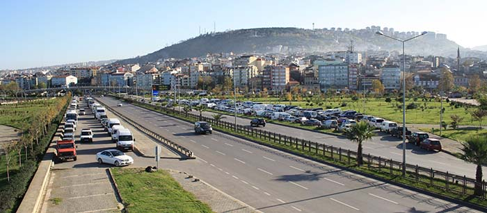 Trabzon on the Black Sea coast