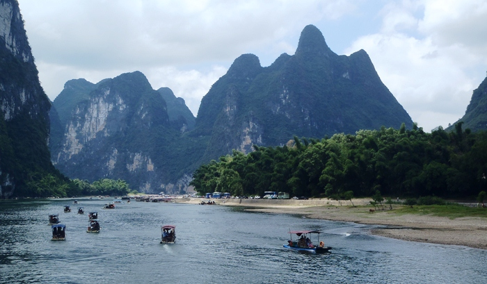 river li in guilin