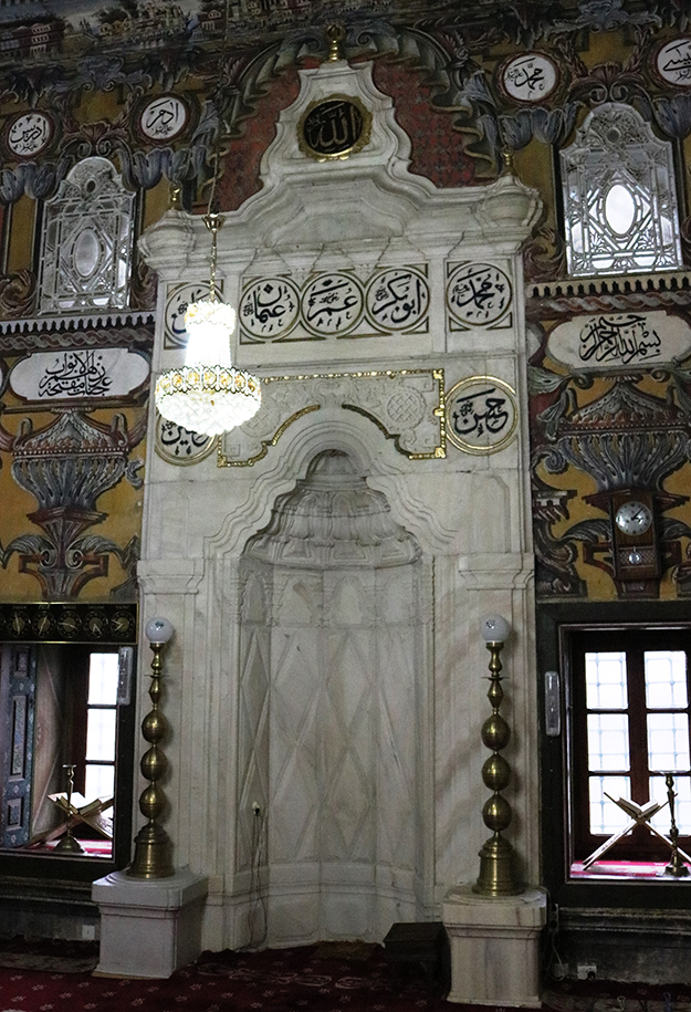 Decorated mosque of Tetovo