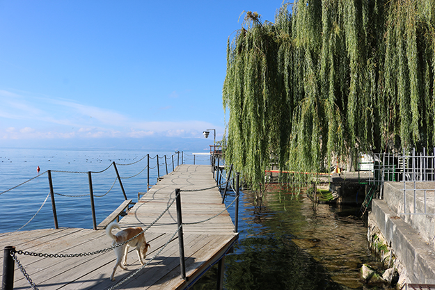 ohrid lake in Macedonia