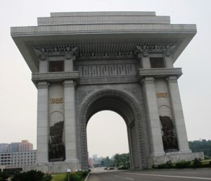 arc of triumph DPRK