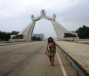 arch of triumph DPRK