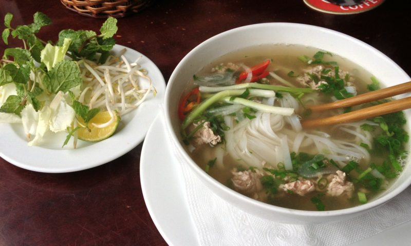 Pho is easily Vietnam's national dish