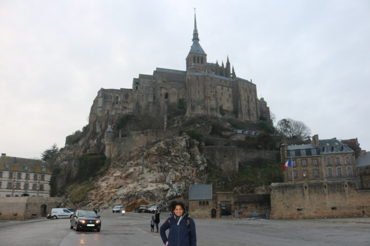 Mont Saint Michael in Normandy